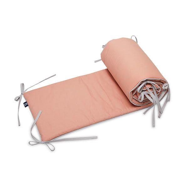 Ochraniacz do łóżeczka 60x120 - Brudny Róż