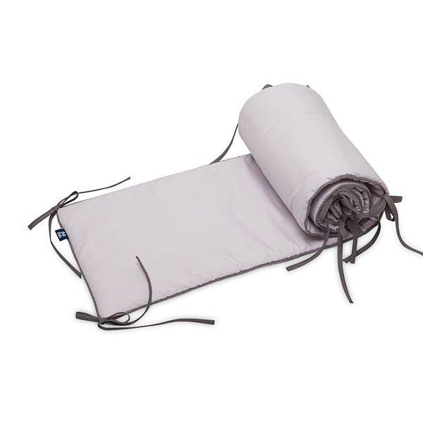 Ochraniacz do łóżeczka 60x120 - Szary